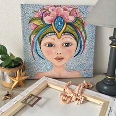 Reproduction sur toile 30 X 30 cm Illustration, Creations, Princess Zelda, Fictional Characters, Studio, Toile, Illustrations, Fantasy Characters