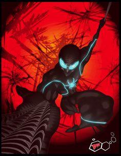 Spider Tron