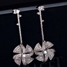 Zircon Earring JHZ-431 USD59.14, Click photo for shopping guide and discount