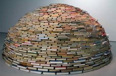 books/igloo/home fun ideas: miler Lagos installation at NYC's MagnanMetz Gallery