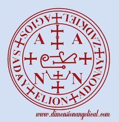 Sellos del Arcangel Zaquiel