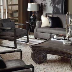 Bernhardt   Bernhardt Interiors Living Room Setting