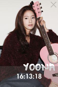 Yoona : Soshi Clock - 2012 Girls' Generation Diary App: