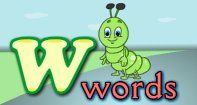 A superb video to introduce toddlers to words that begin with the letter W. The video lesson will be an effective tool in building strong vocabulary and pronunciation skills in toddlers.