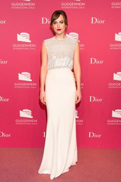 Dakota Johnson in Dior