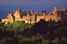 Carcassonne...No idea where this is but beautiful!