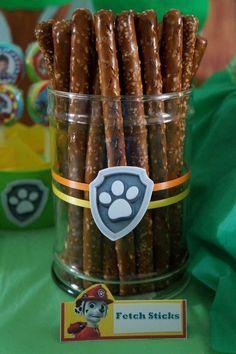 Paw Patrol Birthday Party Ideas | Photo 1 of 44 | Catch My Party
