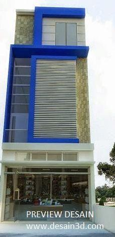 Fasad Ruko Modern : fasad, modern, Desain, Minimalis, Modern:, Gambar, Fasad, Nuansa, Simple, Modern, Ruko,, Desain,