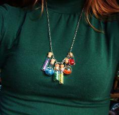 Chemistry necklace :)