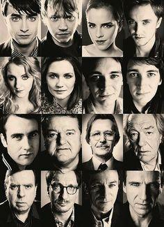 Actors from Harry Potter Harry Potter Actors, Harry Potter Love, Harry Potter Universal, Harry Potter Fandom, Harry Potter World, Nerd, Cinema, Star Wars, Daniel Radcliffe