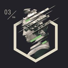Athena by Ian Dickens  #creative #design #art #inspiration #geometry…