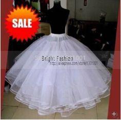 Vestido Longo Hot Sale 2016 White Crinoline Petticoat Jupon 6 Layers For Wedding Dress Hoop Skirt Wedding Accessories For Bride
