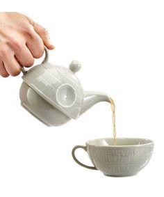 Another great find on #zulily! Star Wars Death Star Teapot & Mug #zulilyfinds