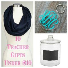 Teacher Gift Ideas Under $10