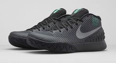 NikeKyrie1-Driveway-banner Sneakers Fashion, Kicks Shoes, Nike Kicks, Men's Shoes, Basketball Sneakers, Nike Basketball, Sneakers Nike, Yellow Sneakers, Kyrie Irving Shoes