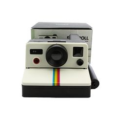 Toilet Bathroom Lavatory Washroom Office Home Hotel Hanging Tissue Box Paper Roll Holder 80s Retro Style Polariod Creative Camera Shaped Hermetic Waterproof Fashionable Funny Accessories >> Additional details found at the image link  : DIY : Do It Yourself Today