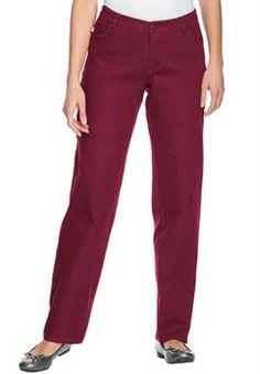 Women's Plus Size Petite Jean, Pull On, Elastic Waist *** Check ...