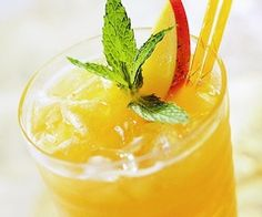 Minted Mango Iced Tea  http://www.bhg.com/recipe/drinks/minted-mango-tea/?socsrc=bhgpin061413mintedmangocrlt.pid=camp.u6JpENuHe48M