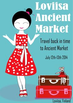 Travel back in time to Vikings Ancient Market. in July 12th-13th 2014. Come and experience the ancient times!