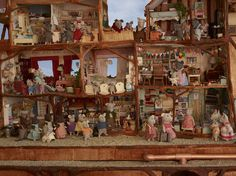 Miniature Mouses <3 The Mouse Mansion