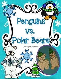 "Polar Bears vs. Penguins FREEBIES.... Follow for Free ""too-neat-not-to-keep"" teaching tools & other fun stuff :)"
