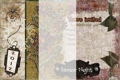 Senior Night Invite
