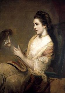 This is a portrait of Kitty Fisher, well-known British courtesan of the 18th century, NOT Lavinia Fisher.  The legend of Lavinia Fisher has been told and retold since her execution in Charleston, South Carolina in 1820 and with each telling it has grown more extravagant and further from the truth. Today tourist pamphlets and web sites will earnestly tell you that Lavinia was America's first female serial killer when, in fact, there is no hard evidence that she ever killed anyone.