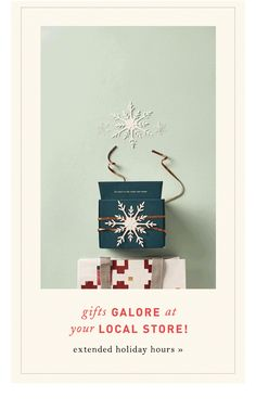 Anthropologie: Just-in-time gifts are in stores & on sale!