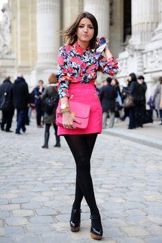 #falda #camisa #Flores