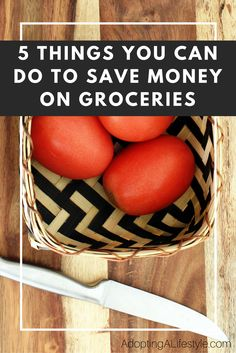 I don't know about you, but I always spend more money on my groceries than I should. I knew there had to be a way to save money on stuff I was all ready buying, so I researched it for you. Click here to see the 5 things you can do to save money on your groceries so you don't go over your monthly budget!