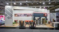 Designflooring GmbH Referenzbeispiel zur Domotex, Hannover  56m²