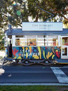 An Art Series Hotel in Bendigo: The Schaller Studio - Broadsheet Melbourne Melbourne, Hotel World, Mobile Art, Workspace Inspiration, Shop Fronts, Australian Art, Art Series, Art For Art Sake, Business Inspiration