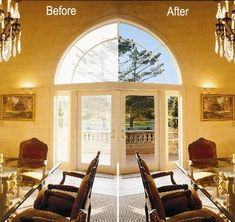 I couldn't live without my window film from 3M.  It not only keeps out the heat and glare but insulates from the cold.