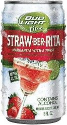 Bud Light Lime Straw-Ber-Rita I've never liked beer until I was convinced to try these. Delicious!