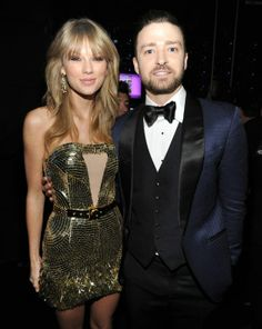 Taylor Swift & Justin Timberlake at the AMAs 2013!