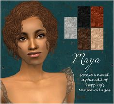 nocturnalsims | Entries tagged with hair; Sims 2 Hair, Cas, Afro, Female, Trending Outfits, Beauty, Black, Black People, Beauty Illustration