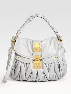 e2f7d064321 Miu Miu - Large Matelasse Coffer Bag