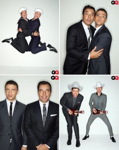 Jimmy & Justin...I'd love to see Jimmy live one day. He's my fave...And if JT just so happened to be there...well, I wouldn't complain   ;-)