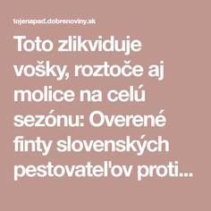 Toto zlikviduje vošky, roztoče aj molice na celú sezónu: Overené finty slovenských pestovateľov proti obávanej záhradnej hávedi!