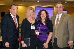 Canisius College's Dr. Joe Alber, Melinda Sanderson, me and Dr. Greg Wood