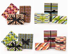 paper patterned wrapping by Inky Co.