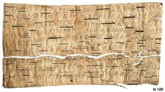 Birch Bark Letters, part 2 - Languages Of The World
