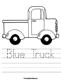little blue truck coloring pages 37 Best Little Blue Truck images | Preschool activities, Book  little blue truck coloring pages