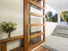 modern glass front doors - Google Search