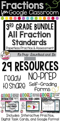 Healthy meals for dinner for kids printable 2017 kids 3rd Grade Fractions, Third Grade Math, Math Fractions, Grade 3, Fourth Grade, Maths, Google Classroom, Math Classroom, Education Quotes For Teachers