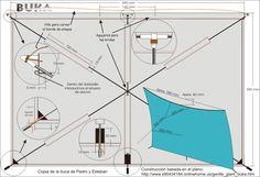 BUKA. Planos para construir una cometa acrobática de un hilo