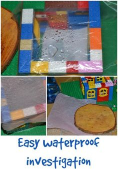 Fun investigation to discover whether wood is waterproof or not. Primary Science, Third Grade Science, Primary Teaching, Teaching Science, Teaching Ideas, Weather Activities, Science Activities, Science Projects, Science Experiments