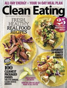 Free Subscription to Clean Eating Magazine   Are you trying to eat healthier, real foods? I am and I'm so excited to see this freebie! Enjoy a FREE 1 year digital subscription to Clean Eatin... AFrugalHome.com