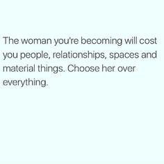Choose her, always!