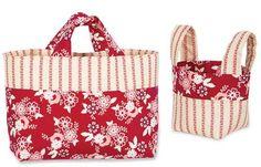 REDWORK BAGS SET- Product Details | Keepsake NeedleArts